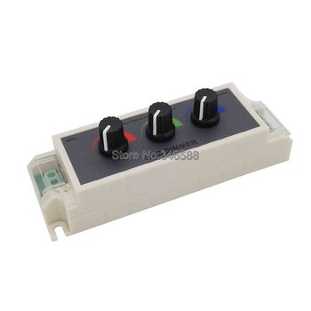 DC12V-24 В 9A контроллер RGB 3 канала RGB светодио дный диммер контроллер для 3528 5050 RGB Светодиодные ленты свет >> Veromount Store