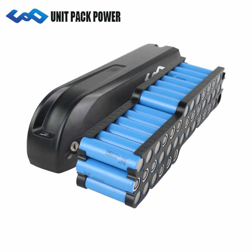 UPP 48V 1500W Battery 2019 New Hailong Battery with 21700 Samsung 5000mAh cells 48V 52V 1000W 1200W Electric Bike Battery 48V