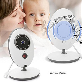 OWGYML Wireless Digital video baby monitor camera LCD Display VB605 two way talk back Surveillance monitors monitoring cameras