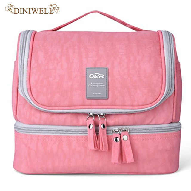 3a23f4122b8 Designer Hanging Toiletry Bag Travel Cosmetics Bag Waterproof Nylon Organizer  for Travel Accessories Toiletry Kit for Women