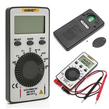 AN101 Pocket Digital Multimeter Backlight AC/DC Automatic Portable Meter Test Tools am 828 брелок конек морской латунь янтарь