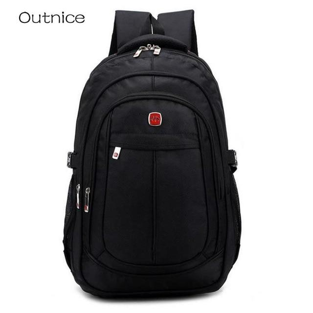 3a80e4464032 2018 OUTNICE Brand Women Backpack Student College School Bags Waterproof  Backpack Men Rucksack Mochila Laptop Bag Backpack