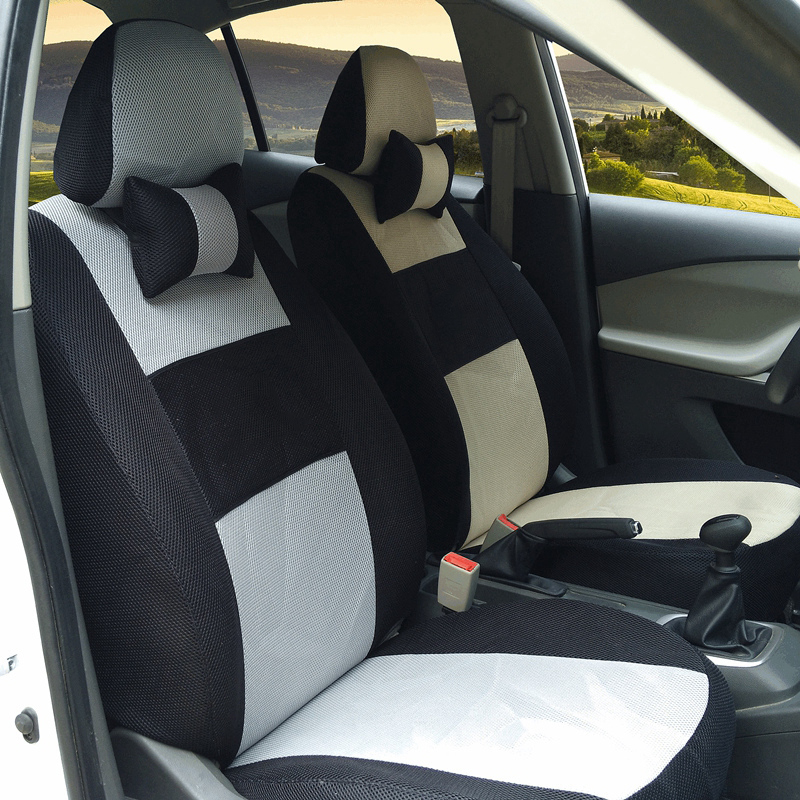 Front Rear Universal Car Seat Covers For Toyota Corolla