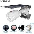 500lm Солнечный свет регулируемый угол освещения 2200Mah водонепроницаемый светильник прожектор с 10 светодиодами три режима для наружной стены ...