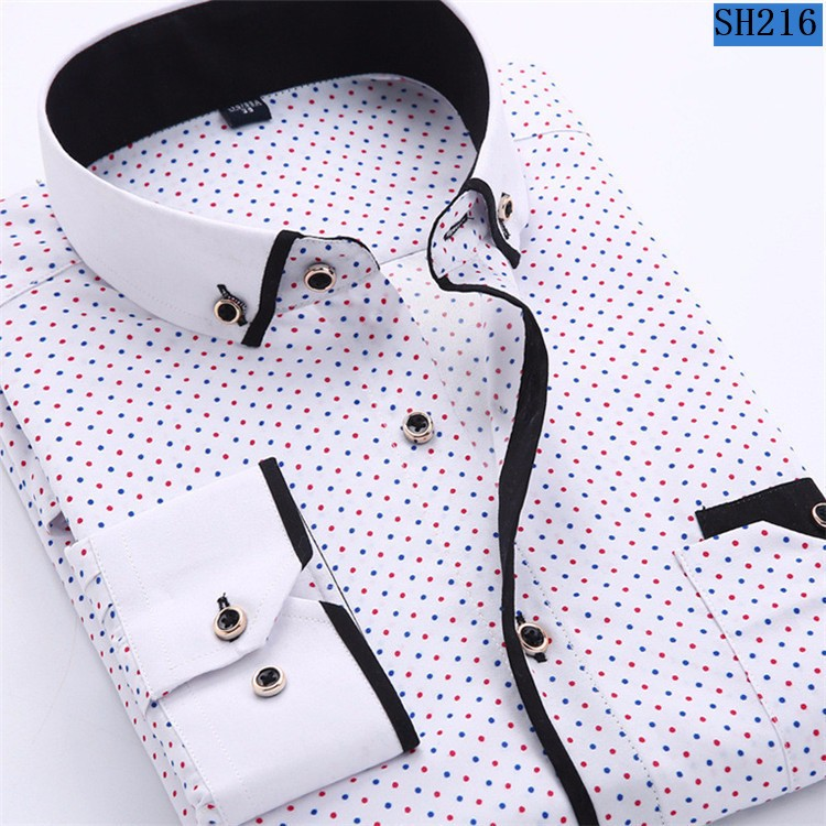HTB1DPLvMpXXXXcPXFXXq6xXFXXXh - 2017 Men Fashion Casual Long Sleeved Printed shirt Slim Fit Male