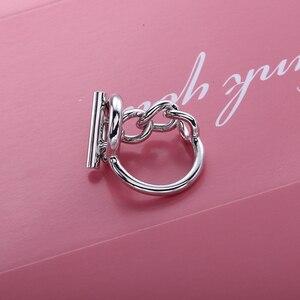 Image 4 - Slovecabin Vintage Menเครื่องประดับแท้925เงินสเตอร์ลิงล็อคแหวนBague Femme Marage Argentแหวน