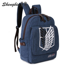 Attack on Titan Canvas Backpack Shoulder Bag (9 styles)