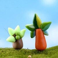1Pcs coconut tree DIY Resin Fairy Garden Craft Decoration Miniature Micro Gnome Terrarium Gift F0228