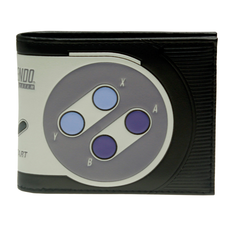 Super Nintendo Bi-Fold Wallet Women Purse DFT-2215