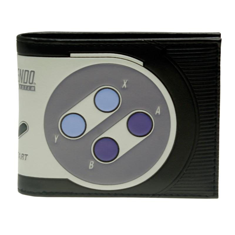 Super Nintendo Bi-Fold Wallet Women Purse DFT-2215