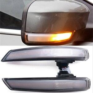 Image 3 - 2 Pcs LED Bên Cánh Gương Chiếu Hậu Chỉ Báo Blinker Repeater Năng Động LED Tín Hiệu Cho Xe Ford FOCUS 2 3 Mondeo