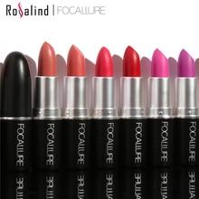 Rosalind 16 Colors Cosmetics Makeup Lip Gloss Long Lasting Waterproof Easy to Wear Velvet Matte Lipstick Maquiagem