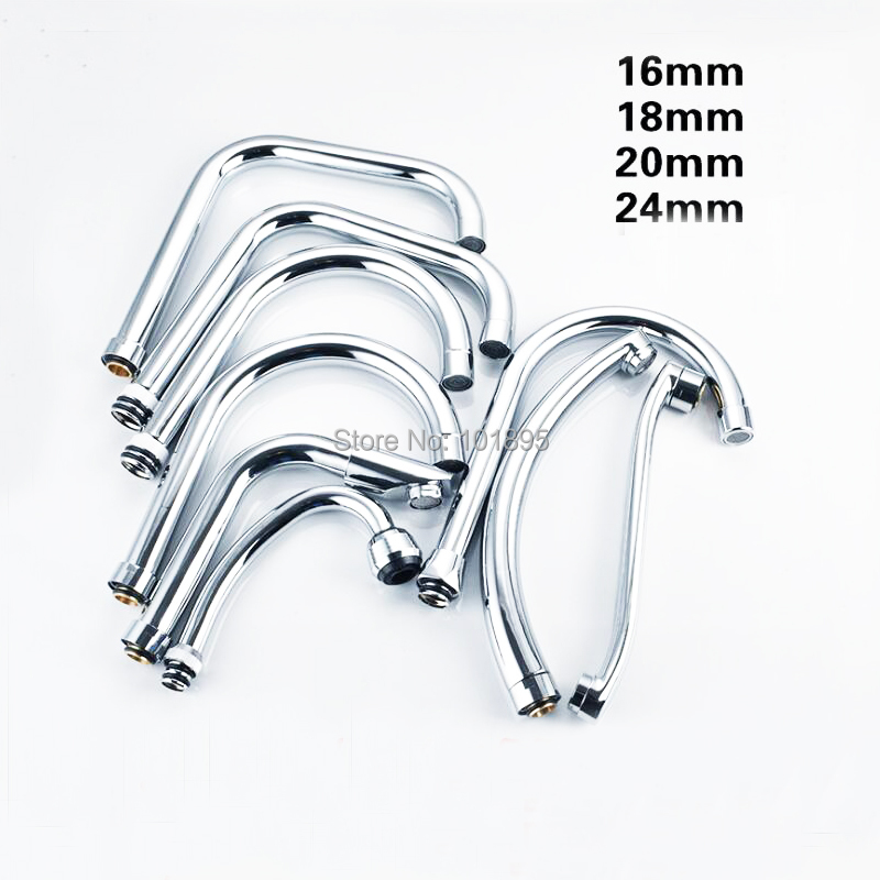 Luxury High Quality Metal Material Chrome Finishing J Shape Of Kitchen Tap Spout