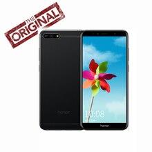 Küresel Rom Huawei Onur 7A cep telefonu Yüz KIMLIĞI 5.7 inç Snapdragon 430 Octa Çekirdek 3000 mAh Ön 8.0MP Arka 13.0MP