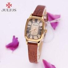 Retro Shell Lady Julius Women's Watch Japan Quartz Hours Clock Fashion Dress Bracelet Girl Birthday Gift Box 478