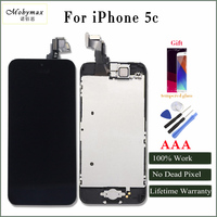 Moybmax Factory Promotion Full Asscembly Lcd Digitizer Screen For Iphone 5c With Home Button Front Camera