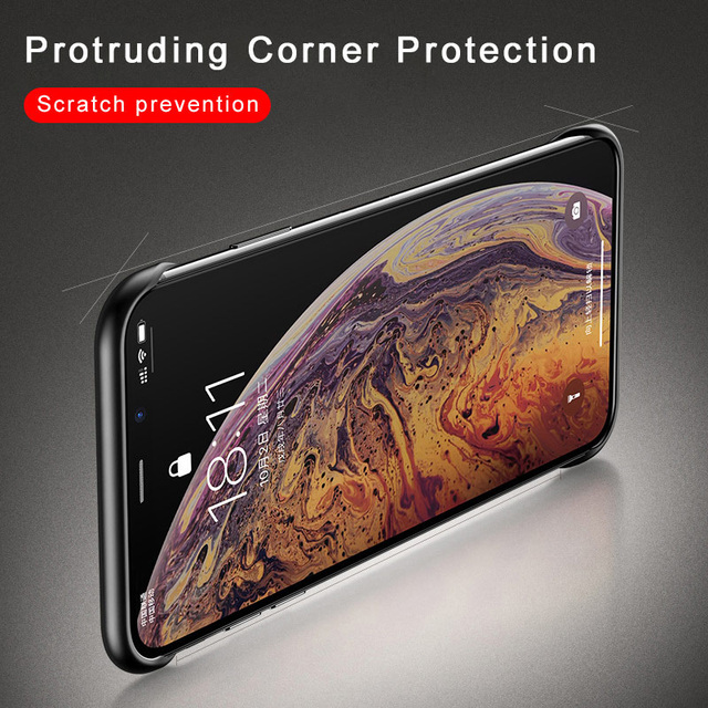 Frameless Phone Case For iPhone XS MAX 8 Plus X XS 6S 7 8