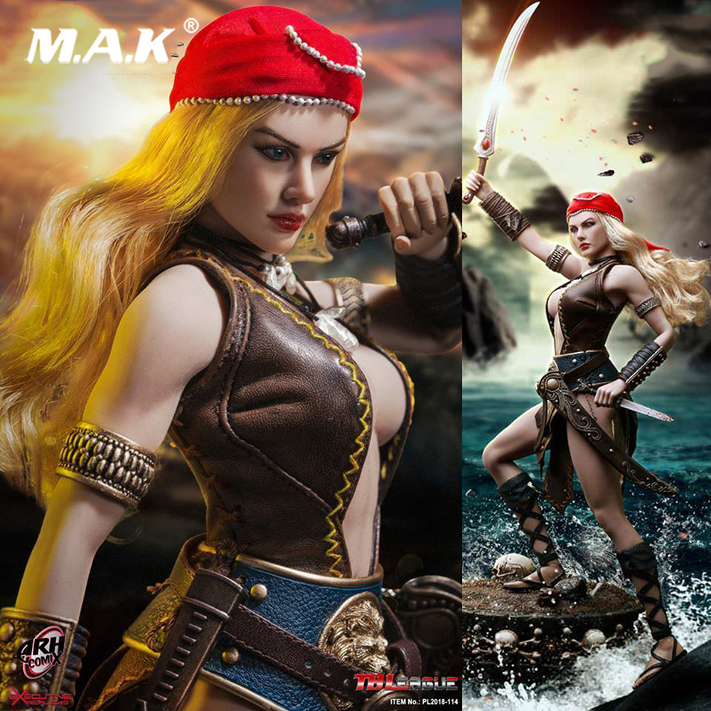 Hot toys TBLeague Phicen PL2018-114 1/6 ARHIAN PIRATE Female pirates Moving figure Model with Flexible Seamless Body in stock tbleague phicen pl2018 112 1 6th scale superhero comics the pro pro action figure w flexible body colletible model toys