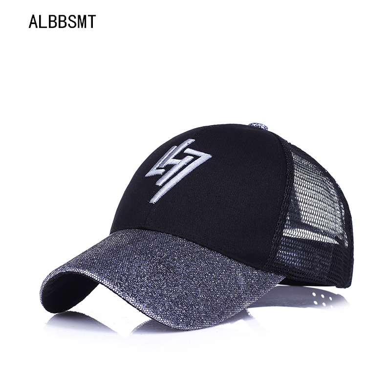 1ff5d609a2c 2018 New Ponytail Baseball Cap Cotton Snapback Dad Hat Summer Women Mesh  Truck