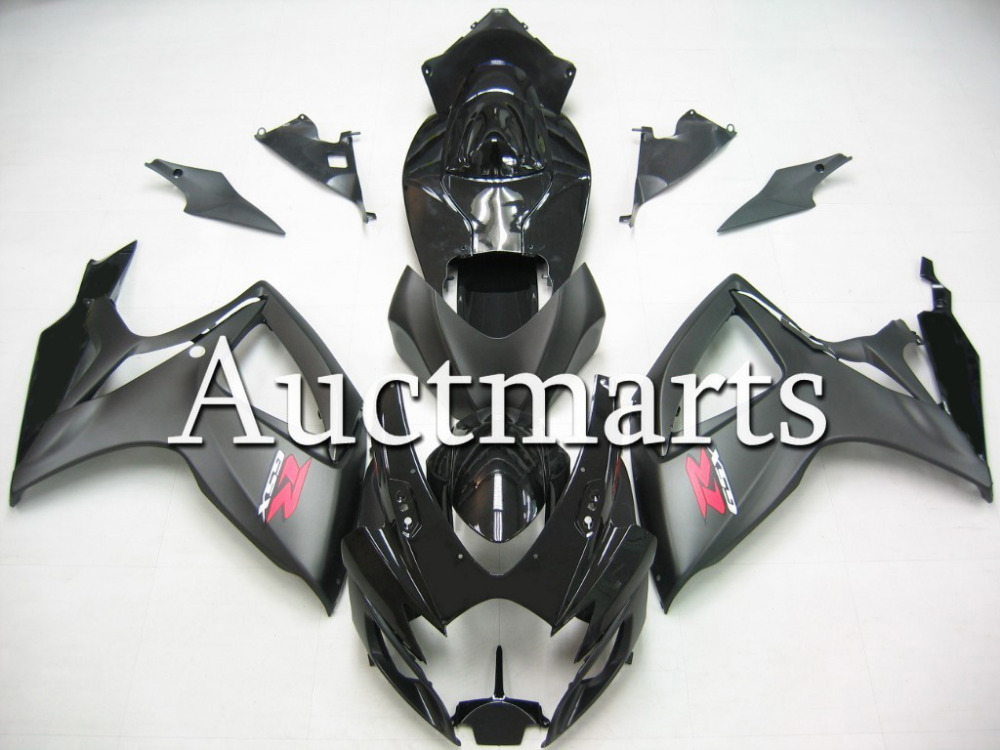 Fit for Suzuki GSX-R 600 2006 2007 ABS Plastic motorcycle Fairing Kit Bodywork GSXR600 06 07 GSXR 600 GSX R600  CB13 new motorcycle ram air intake tube duct for suzuki gsxr600 gsxr750 2006 2007 k6 abs plastic black