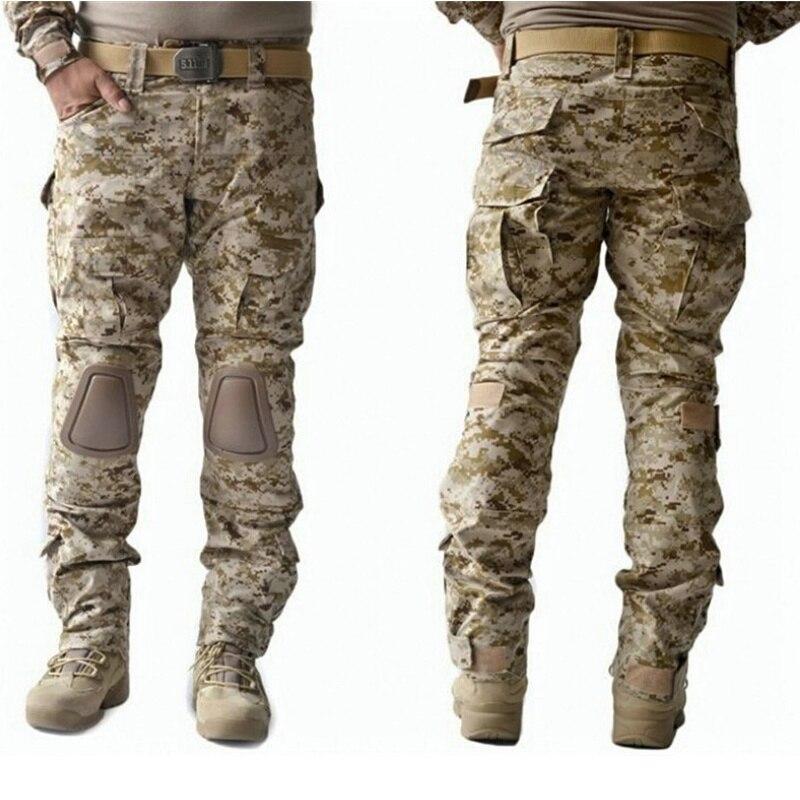 Military Cargo Tactical Mens Trousers Pants Combat Pants BDU ACU Digital Camo