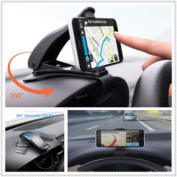 Car Phone Dashboard Holder 360 Degree Mobile Stand Mount for BMW 335is Scooter Gran 760Li 320d 135i E60 E36 F30 F30 image