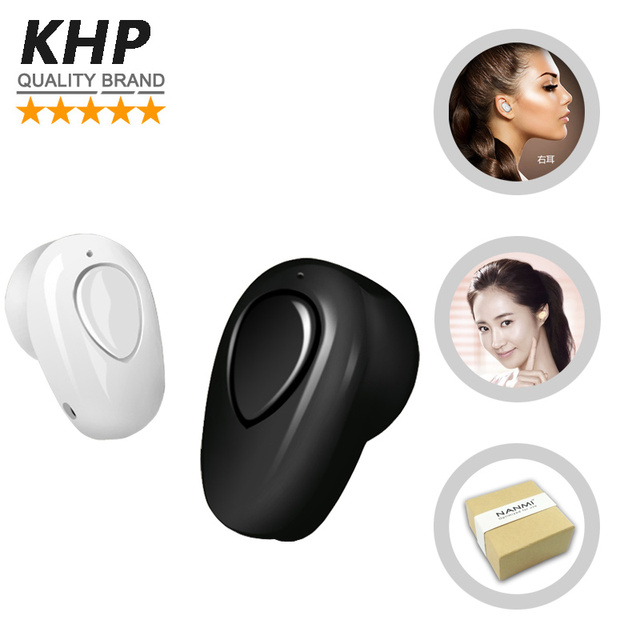 Khp caliente moda wireless bluetooth auricular del auricular para iphone 4 4s 5 5S 6 7 samsung galaxy s4 s5 s6 s7 teléfono mp3 mp4 auricular