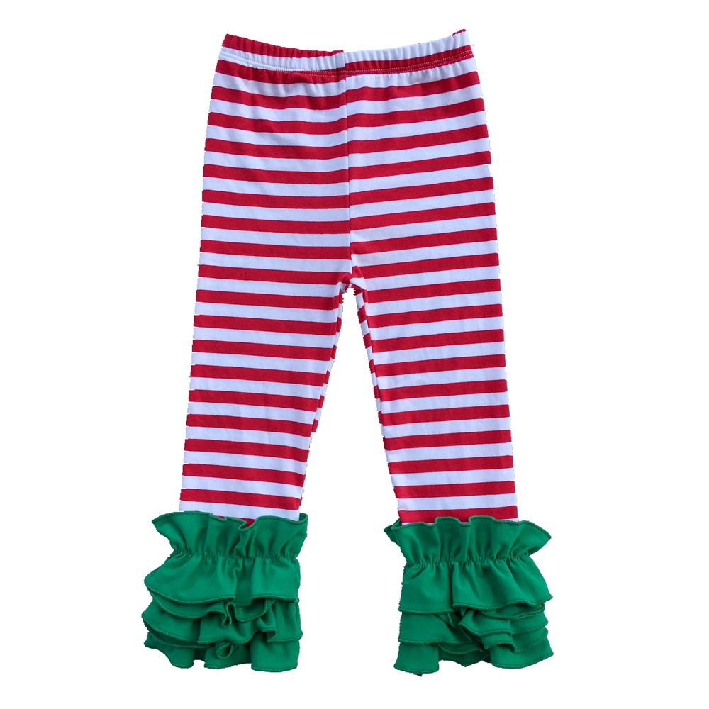 Kids Leggings Girl Spring Autumn Pants Toddler Fashion Ruffle Pants Leggings