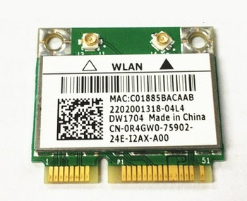 SSEA Wholesale New for Dell Dw1704 Broadcom BCM43142HM Bcm4314 Wifi Bluetooth BT 4.0 Wireless half Mini Pcie Card