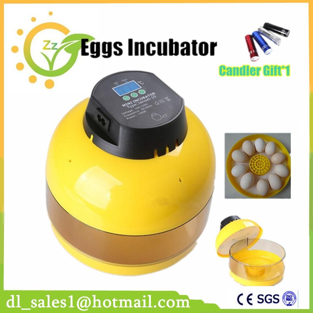 Best Sale Digital Temperature Incubator Pet Supply Duck Hatcher Household Chicken Egg Incubator