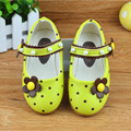 2017 Spring new Girls baby toddler shoes female baby pearl flowers princess leather shoes soft bottom comfortable running shoes