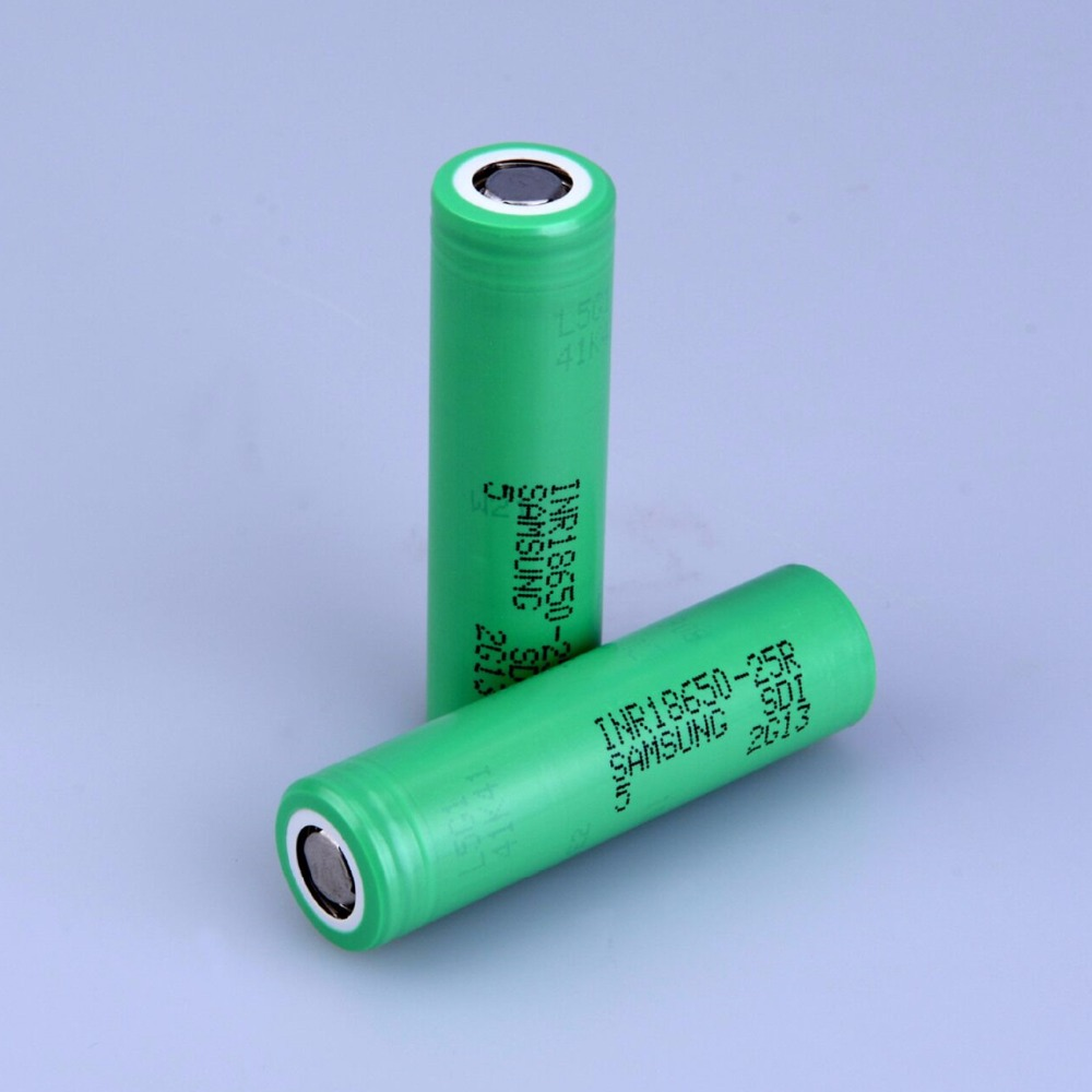 High Drain for SAMSUNG INR 18650 25R 3.6V 2500mAh Dynamic Lithium Li ion Rechargeable chargeable