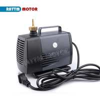 85W CNC spindle motor water pump 4m 220VAC Submersible pump Carving machine accessories From RATTM MOTOR