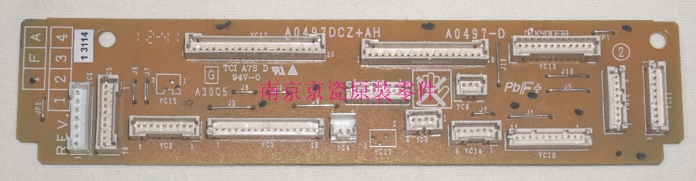 New Original Kyocera 302K994201 PWB JUNCTION ASSY for:TA3500i-8000i 3501i-8001i 3050ci-7550ci 3051ci-7551ci new original kyocera dc motor assy in fk 6701 6702 for ta6501i 8001i