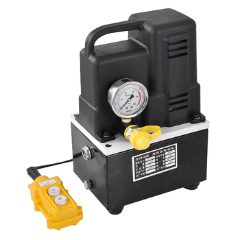 220V GYB-63D Portable Electric Hydraulic Pump Ultra High Pressure Small Hydraulic Oil Pump Station 600W 1600r/min 3L Hot Sale 220v small high oil free vacuum pump 51 7l min 320w high air suction pump without filter