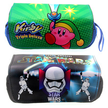 New penalties Warrior Star Wars Black Pencil Bag Cute Pink Card Than Middle School Student Case