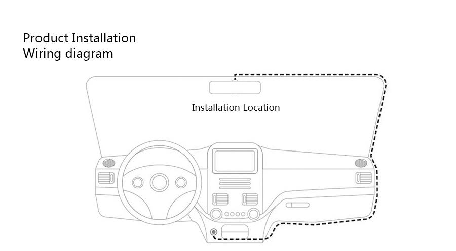 "Junsun 7"" Car GPS Navigation Android 5.0 Special 3G DVR Camera Rearview Mirror Dual Lens Truck gps sat nav Navitel Europe Maps 42"