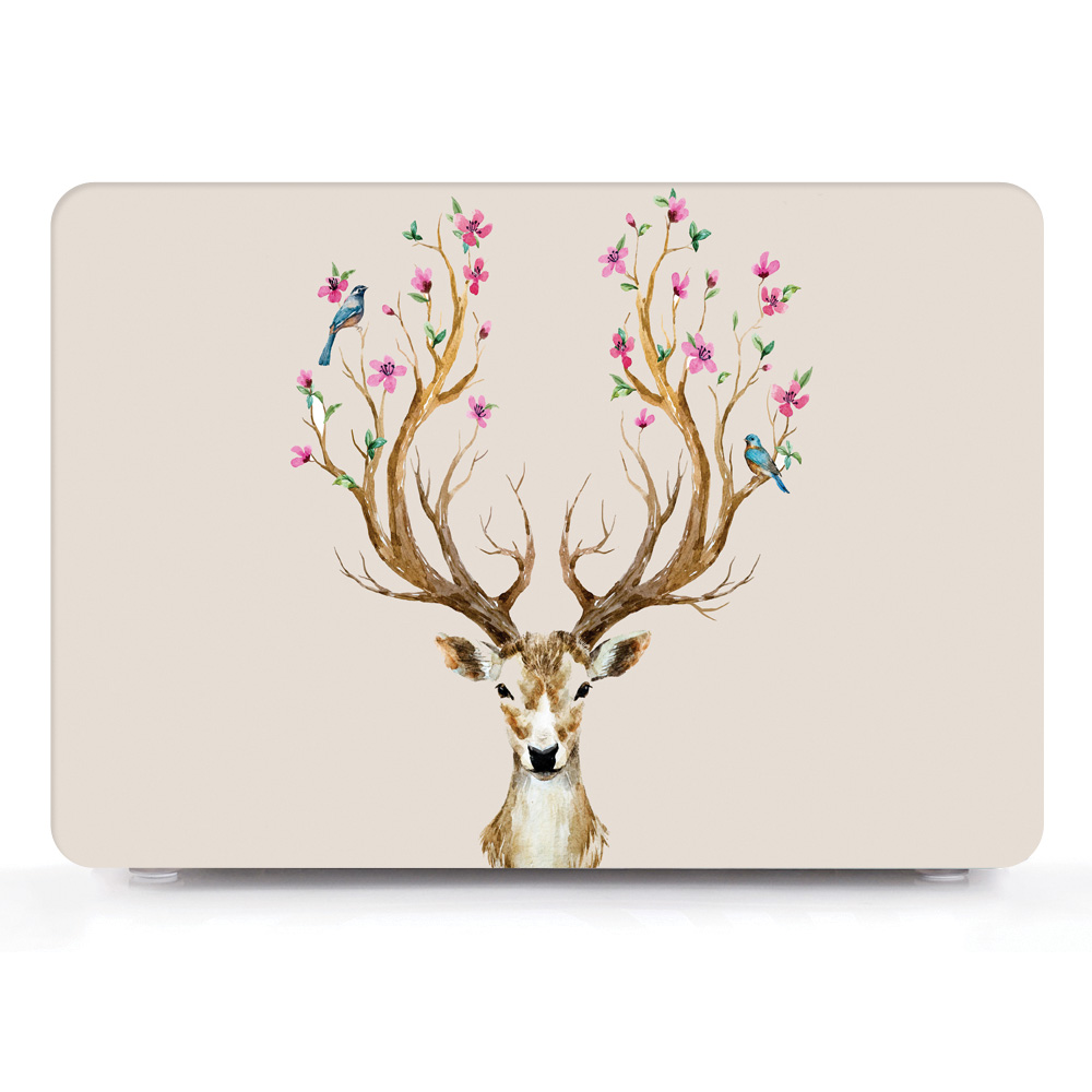 Cute Pattern Hard Shell Case for MacBook 17