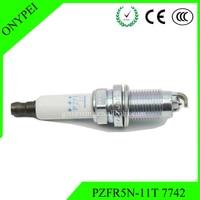 Free Shipping 4 Pcs Lot PZFR5N 11T 7742 NGK Platinum Spark Plug For AUDI A4 200011