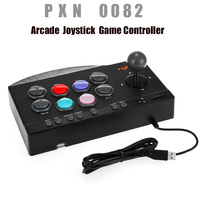 PXN 0082 Arcade Joystick Game Controller USB Wire Arcade Joystick Gaming Handle Controller for PC PS3 PS4 Xbox one