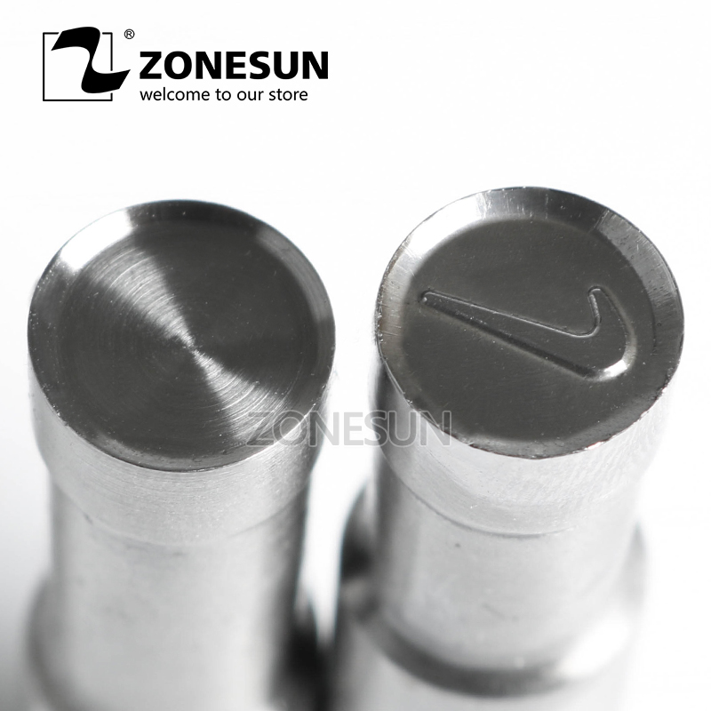 ZONESUN NK Single Tablet Punch Machine Mold Press Custom Sugar Milk Tablet Stamping Die Logo TDP0 1.5 3 5 Mould Making Machine 1 set dies & punches with stamp single punch tablet press machine dies design mould with single side logo