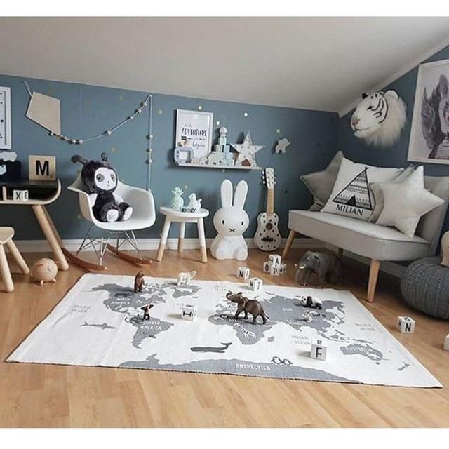 tapis carte du monde carte du monde. Black Bedroom Furniture Sets. Home Design Ideas
