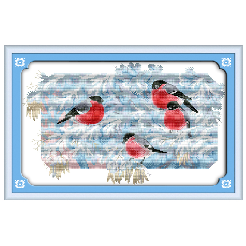 Cold Morning Patterns Counted Cross Stitch 11ct 14ct Cross