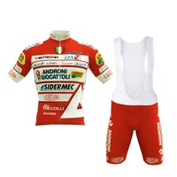 Европа tour pro команда Androni красный Велосипеды Джерси велосипедный комплект трико пропускающее воздух MTB быстросохнущие велосипед одежда Ropa ...