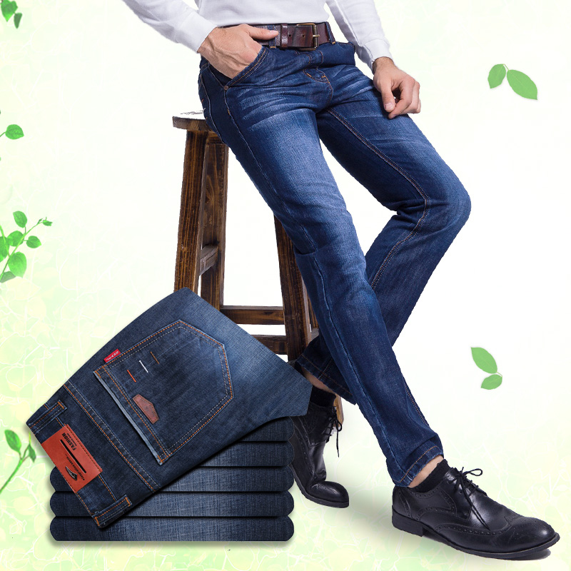 цена на Italy Famous Brand Men's Fashion Ripped Jeans,2015 New Arrival,100% Cotton,High Quality,Blue Vintage Jeans Pants Free shipping