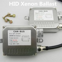 Polarlander 2pcs Good Quality for H7 H4 H1 H3 H11 9005 9006 HID Digital Slim Canbus 35W 12V Digital HID Ballast