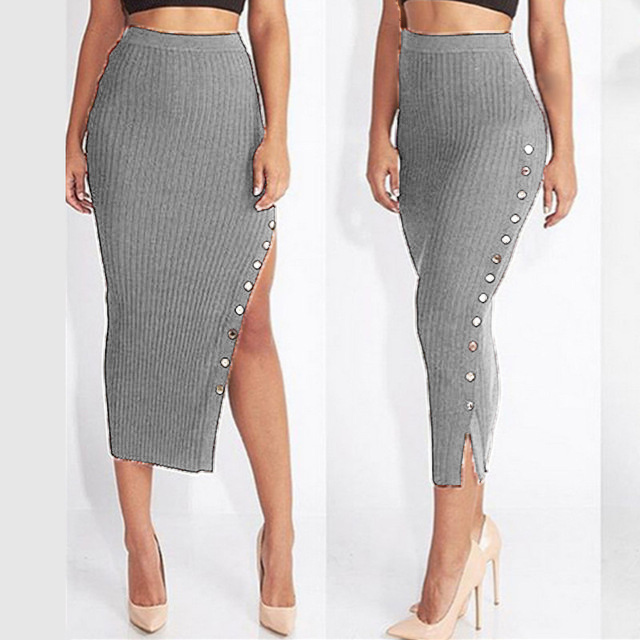 Popular Women Long Pencil Skirts-Buy Cheap Women Long Pencil ...