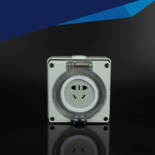 IP66  Outdoor Waterproof Dust-Proof Power Socket, 10A Five holes Multifunction Socket