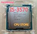 Lntel 3570 I5 i5-3570 Processador CPU Quad-Core (3.4 Ghz/L3 = 6 M/77 W) Socket LGA 1155 CPU Desktop (trabalhando 100% Frete Grátis)