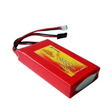 Flytown 2100mAh 2S1P 6.6V 20C LiFePo4 Transmitter battery LiFe battery for Futaba T14SG 8J 10J 4PK 4PX 4PV 7PX LiFe Futaba 4PLS